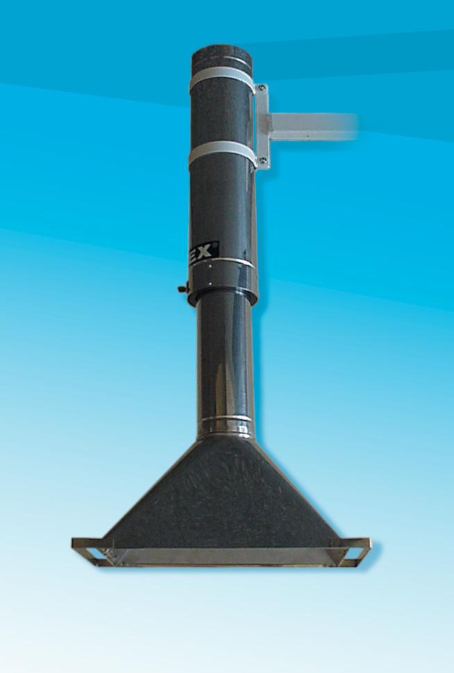laboratorium - telescopische bronafzuiging voor hete schadelijke stoffen