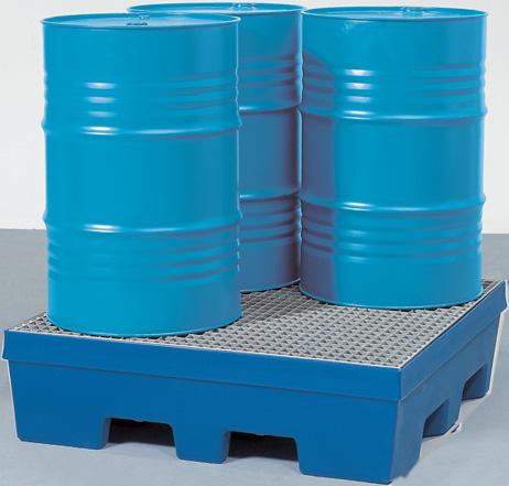 G. milieupallets (opvangcapaciteit 225 l) V* 4 vaten