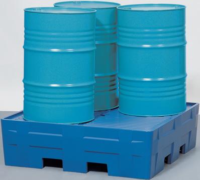 M. milieupallets (opvangcapaciteit 220 l + 440 l) V* 4 vaten