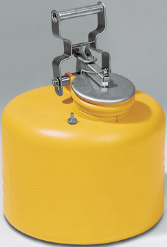 C. verzamel- veiligheidskannen- staal/polyethyleen