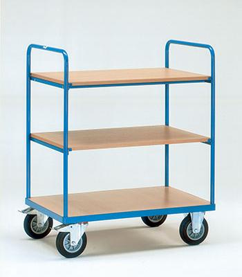 Etagewagens met legbord - 3 etages