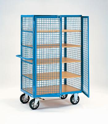 Etagewagen 750 kg met gaaswand