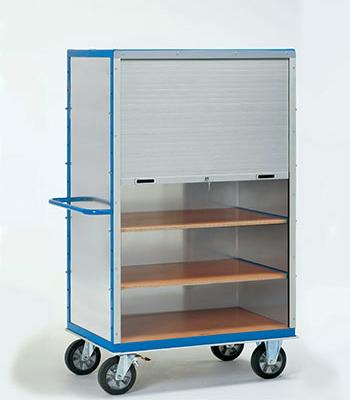 Etagewagen 750 kg met jalouzie deuren
