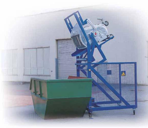 Afvalbakcontainerkantelaar