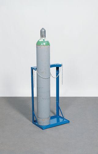 Gasflessenstandaard, verzinkt