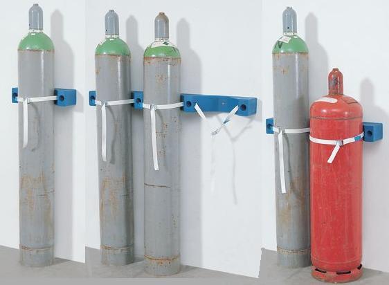 Gasflessenhouder van polyethyleen