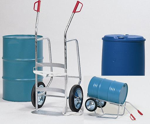 Vatenhandling: vatenkarren en transportkarren