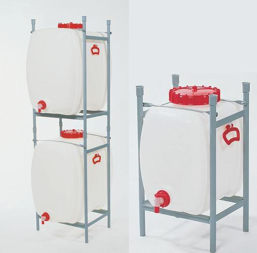 H. Ruimtebesparende kunststof tanks