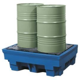 X. Opvangbakken (1 of 2 vaten van 200 liter)