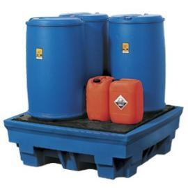 Y. Opvangbakken (1 tot 4 vaten van 200 liter)