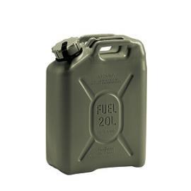 R. Veiligheidsjerrycan van PE met 20 liter inhoud.