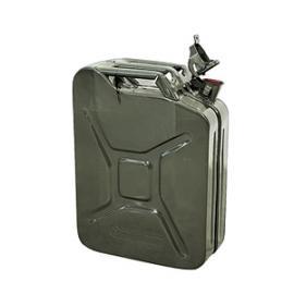 T. Veiligheidsjerrycan van staal met 20 liter inhoud