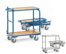 Fetra opklapbare tafelwagen KW4