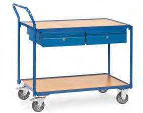 Fetra tafelwagen met 2 laden