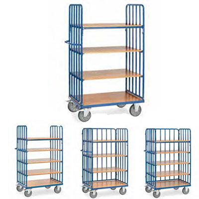 Fetra etagewagens met zijwanden