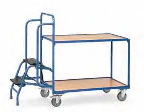 Fetra orderverzamelwagens met trap