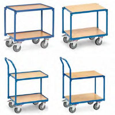 Fetra tafelwagen voor eurobakken