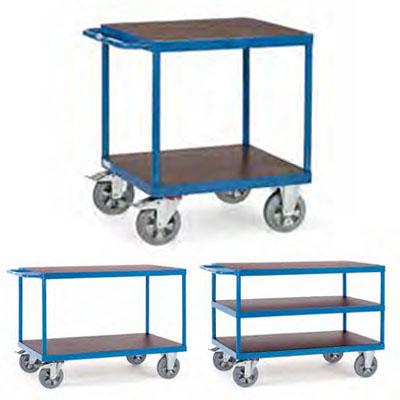 Fetra zwaarlast tafelwagens 1200kg