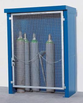 BGU 17.9 Brandwerende gasflessencontainer