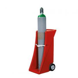 Gasflessenwagen van polyethyleen (PE)
