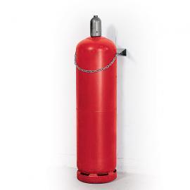 Gasflessenhouders van verzinkt staal (Ø 320 mm)